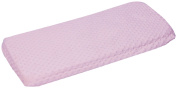Baby Doll Bedding Minky Changing Table Cover, Pink