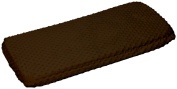 Baby Doll Bedding Minky Changing Table Cover, Chocolate