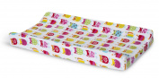 Zutano Owls Velour Changing Pad Cover