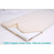 All-in-One Organic Cotton Changing Table Pad Coverlet