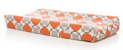 Sweet Potato by Glenna Jean Echo Changing Pad Cover Circle Print