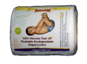 Viscose Biodegradable/ Flushable Liners for Dispoable or Cloth Nappy- BubuBibi