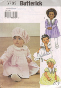 Infant Coat, Dress and Hat byButterrick #3785