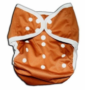 One Size Fit Most- Nappy Covers for Prefolds or Regular Inserts Cloth Nappy/ Nappy PUL - BROWN