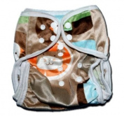 "One Size Fit All- Nappy Covers for Prefolds or Regular Inserts PUL MINKY - FARM by ""BubuBibi"""