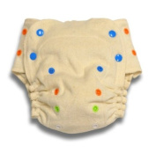 BabyKicks Organic One Size Fitted Nappy, Natural