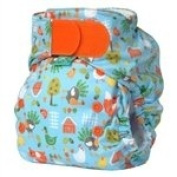 Bummis TotsBots Easy Fit Hook & Loop Cloth Nappy Shell, Chicken Little, One Size 3.63-15.88kg