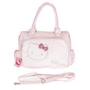 Hello Kitty Tote Bag Messenger Sling Purse White