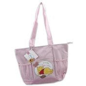Pooh Pink Colour Nappy Bag
