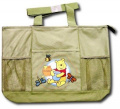"Disney Baby Pooh ""Happy Pooh"" Large Nappy Bag"