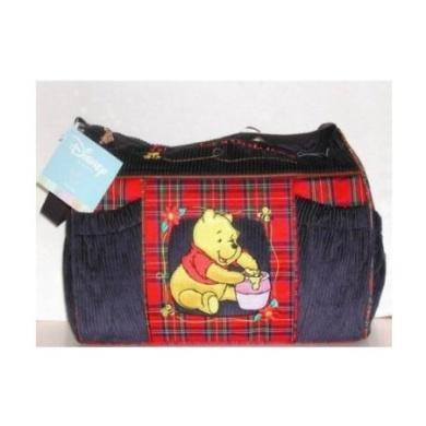 Disney Winnie the Pooh Baby Shower Corduroy Nappy Bag