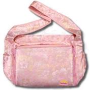 Creame Flowers Silk Boutique Nappy Bag