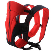 Ecosusi Classic Front and Back Baby Carrier Purplish Red