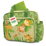 Fisher-Price Rainforest Nappy Bag, Green
