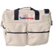 Stuff 4 Multiples Twinneroo Twin Nappy Bag, Khaki