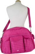 Rose Pink Lug Tuk Tuk Carry All Bag Also great as a nappy bag