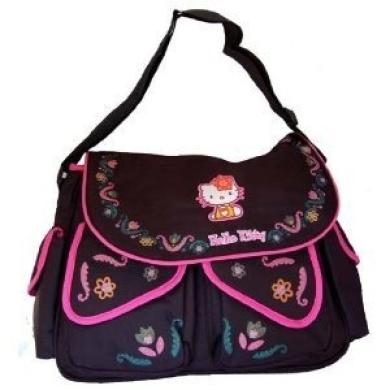 Hello Kitty Large Messenger Nappy Bag