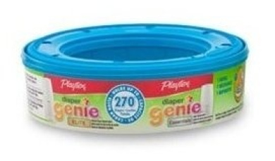 Playtex Nappy Genie Disposal System Refills, 6 pack, up to 270 nappies each (1620 total)