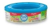 Playtex Nappy Genie Disposal System Refills, 6 pack, up to 270 nappies each (1620 total) [Item #71244]