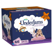 Pampers Underjams Girl Nappies Big Pack Size S/M 46 Count
