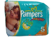Pampers Nappies Size 5 - 22ct.