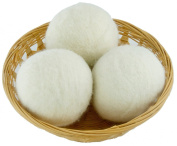 EveryDay Willow Wool Dryer Balls Gift Set of 3, Natural