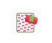 Koo-Di Essentials Baby Wipes Box With Changing Mat - Cherry Delight