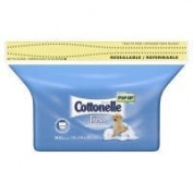 Cottonelle fresh flushable moist wipes, refill pack - 84 ea