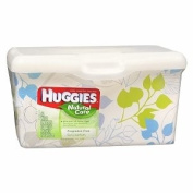 Huggies Natural Care Baby Wipes, Tub, Fragrance Free 64 ea