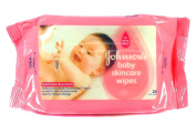 Johnsons Baby Skincare Wipes Gentle Cleaning for Little Hands & Faces 20 sheets Per Pack