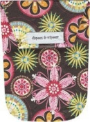 Diapees & Wipees Waterproof Carnival Bloom Baby Nappy and Wipes Bag