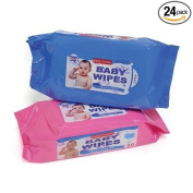 Baby Tender Baby Wipes pack of 80 Case of 24 packs
