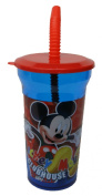 Disney Mickey Mouse Clubhouse Water Bottle with Straw Party Favour