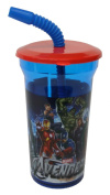 Marvel Avengers Water Bottle with Straw Party Favour