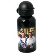Jls 'Black and Gold' Aluminium Water Bottle