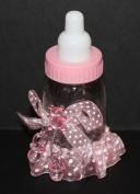 Baby Bottle Keepsake - Pink Set of 6