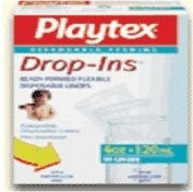 Playtex Drop-Ins Pre-Sterilised Disposable Liners 8-10 oz. 50 Count