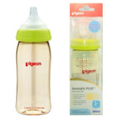 Pigeon Peristaltic PLUS PPSU Nursing Bottle BPA Free 240 ml with nipple size M