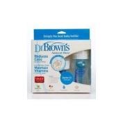Dr Brown's Natural Flow Starter Kit Wide Neck