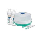 Dr Brown's Microwave Steriliser + 2 Bottles