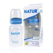 3x Natur Anti-colic Baby Milk Bottles Size S Blue 120ml Best Product From Thailand