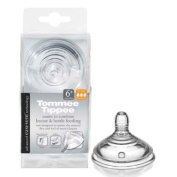 Tommee Tippee Colour My World Fast Flow Teats 2 Pack