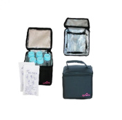 Spectra Baby USA Breast Milk Cooler Kit with 5 Bottles
