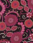 Convertible Nursing Cover - Modern Love Cranberry Print
