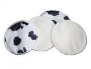 Waterproof Bamboo Nursing Pads - Cow Print