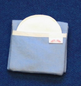 NuAngel Flip and Go(TM) Nursing Pad Case - Periwinkle Blue - Made in U.S.A.