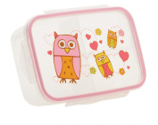 Sugarbooger Good Lunch Box Divided Lunch Container, Hoot
