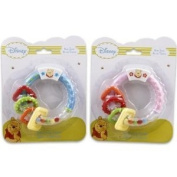 Winnie the Pooh Activity Ring Teether for Boys-blue