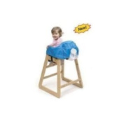 Classy Kid Deluxe High Chair Cover with Dining Out Kit - Germ Defence