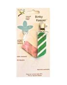 Jaq Jaq Bird Binky Keeper, Green Stripe